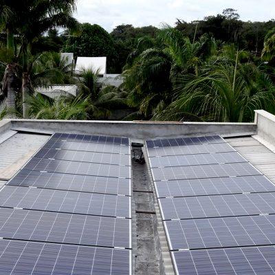 Energia solar residencia