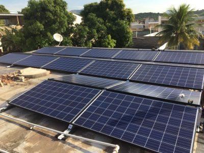 energia solar Residencia Rio de Janeiro