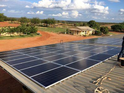 Panorama Energia solar fazenda sao desiderio