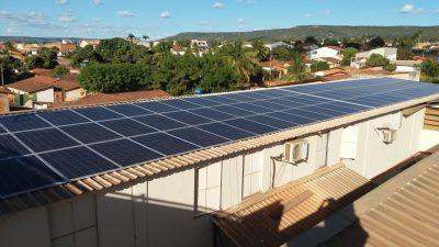 energia solar fabrica de biscoito Barreiras