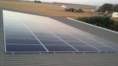 energia solar em fazenda sao desiderio